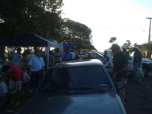 Feira do Produtor Rural de Santo Inácio  - Veja mais fotos clicando ==>