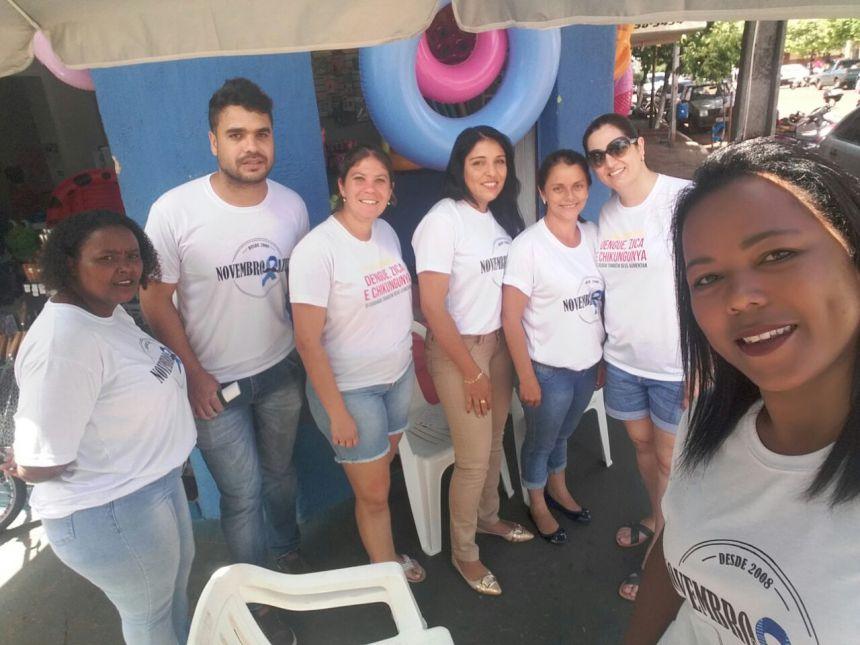 FORÇA TAREFA DA SAÚDE MARCA DIA D CONTRA A DENGUE EM PRIMEIRO DE MAIO