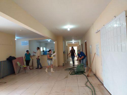 COMUNICADO A POPULAÇÃO  POR REFORMA, HOSPITAL MUNICIPAL PASSA A ATENDER NA UBS CENTRAL A PARTIR DE SEGUNDA FEIRA
