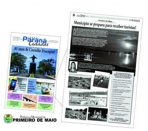 Fac-s�mile, Jornal Paran� Cidades, ed. 95