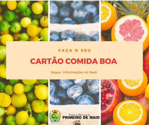 CARTÃO COMIDA BOA
