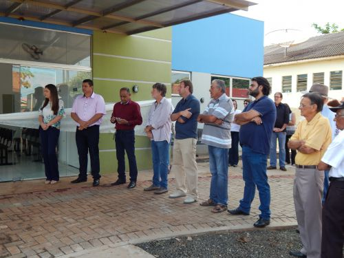 PREFEITURA INAUGURA UBS DO BAIRRO RAUL GARCIA E VILA GANDHI