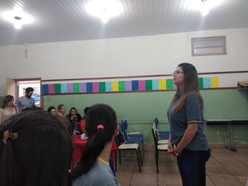 PROFESSORES DA REDE MUNICIPAL PARTICIPAM DE OFICINA SOBRE TRABALHO PEDAGÓGICO