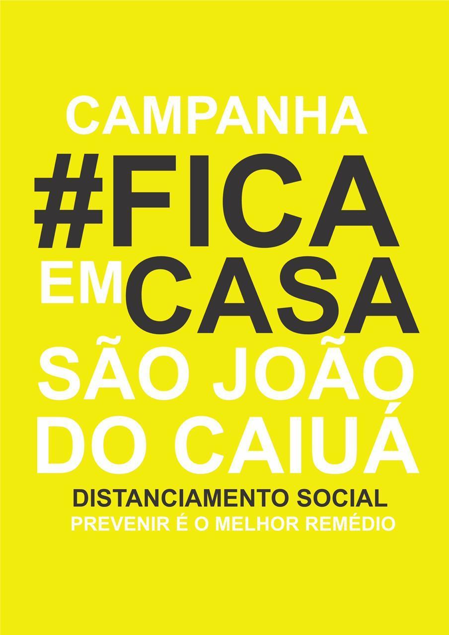 CAMPANHA #FICAEMCASA