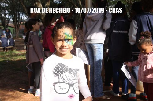Rua de recreio - CRAS