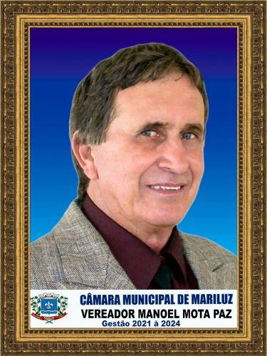 Vice Presidente - Manoel Mota Paz