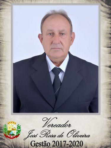 "José Rosa de Oliveira - PSDB "" In Memoriam"""