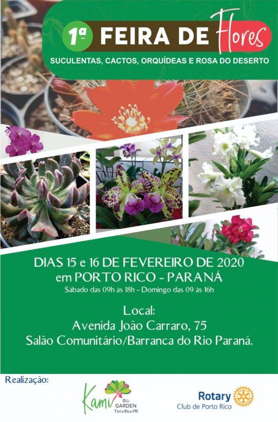 1ª FEIRA DE FLORES /SUCULENTAS E ROSA DO DESERTO
