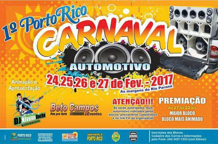 1º Carnaval Porto Rico Automotivo