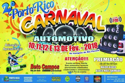 2º Porto Rico - Carnaval Automotivo