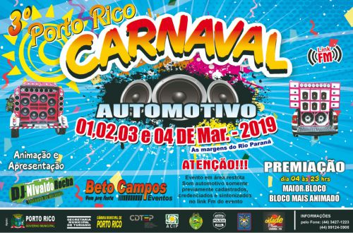 3º CARNAVAL PORTO RICO AUTOMOTIVO