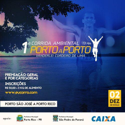 1º Corrida Ambiental Porto a Porto