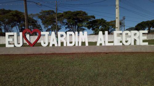Toque especial no trevo de nossa Cidade Jardim Alegre.