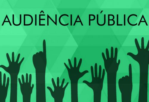 Audiência Pública às 14h:00min do dia 27 de Fevereiro de 2019.