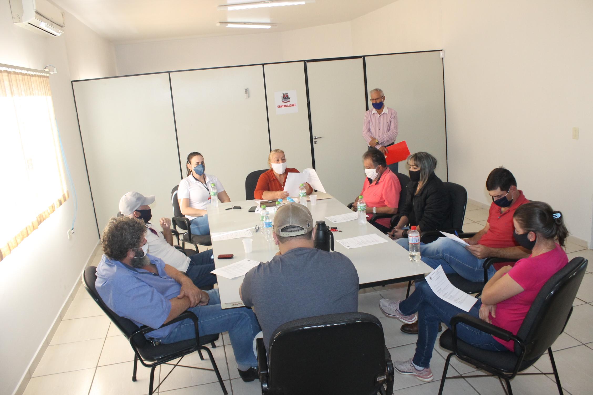 Reunião ordinária da Câmara Municipal de Vereadores.