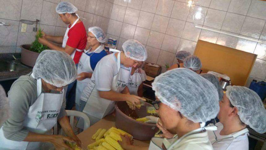 """Curso """"Beneficiamento e Transformação Caseira de Cereais Básico em Milho"""""""