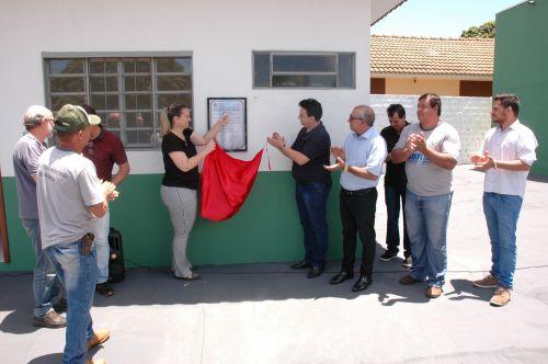 Inauguração da obra de ampliação e melhoria do sistema de abastecimento de água