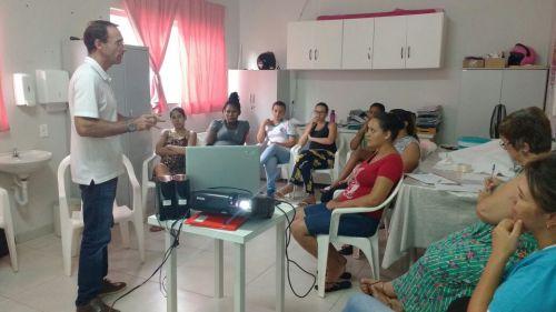 Secretaria de Saúde realiza reunião com gestantes
