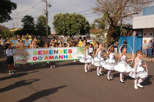 Município de Flórida realiza Desfile Cívico de 7 de Setembro