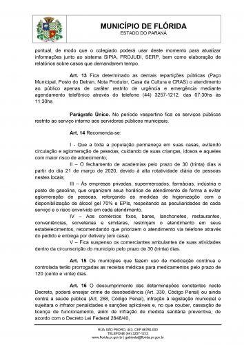 Flórida decreta situação de emergência na Saúde Pública por conta do Coronavírus