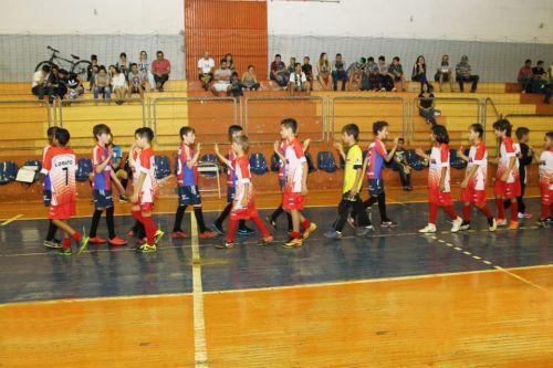 Equipes de futsal masculino participam do Festival de Integração de Futsal 2019