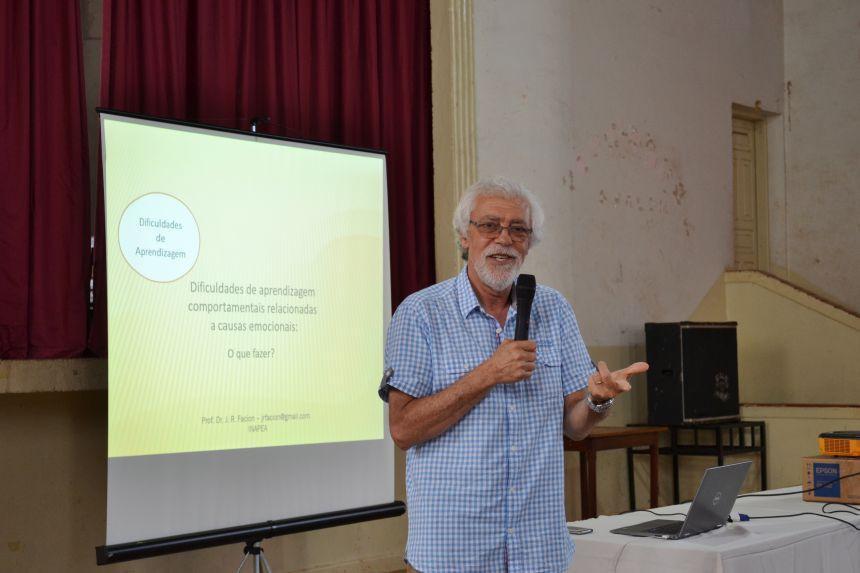 EDUCAÇÃO PROMOVE MAIS UM ENCONTRO COM O RENOMADO DR. FACION