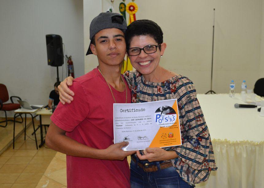 SECRETARIA DE CULTURA PROMOVE SOLENIDADE DE PREMIAÇÃO DO X CONCURSO DE POESIAS