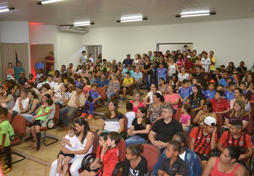 PREMIAÇÃO DO CAMPEONATO DE FUTSAL INVERNO - CATEGORIAS MENORES E FEMININO