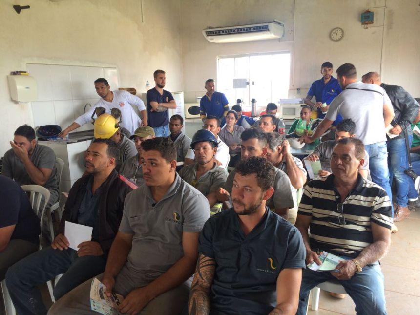 SECRETARIA DE SAÚDE PARTICIPA DE SEMANA PREVENÇÃO DE ACIDENTES DE TRABALHO