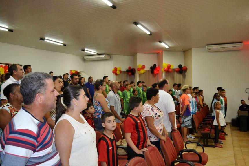 PREMIAÇÃO DO CAMPEONATO DE FUTSAL VERÃO - CATEGORIAS MENORES E FEMININO