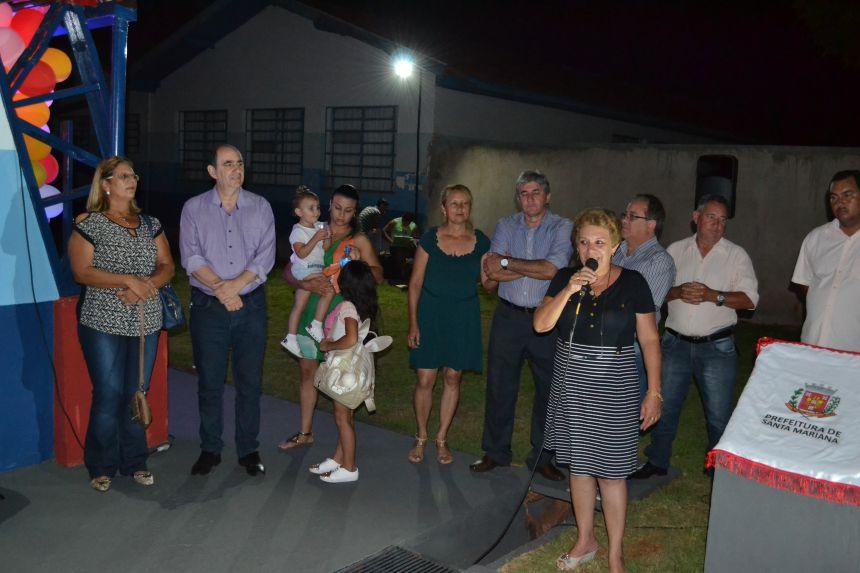 ESCOLA PEDRO MOREIRA DA SILVA GANHA QUADRA POLIESPORTIVA