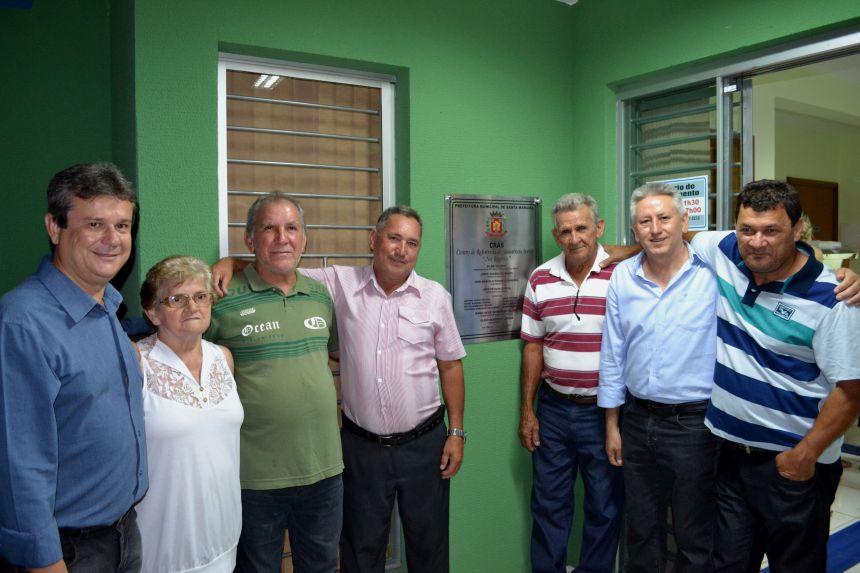 SANTA MARIANA INAUGURA UNIDADE DO CRAS NA VILA SANTA RITA