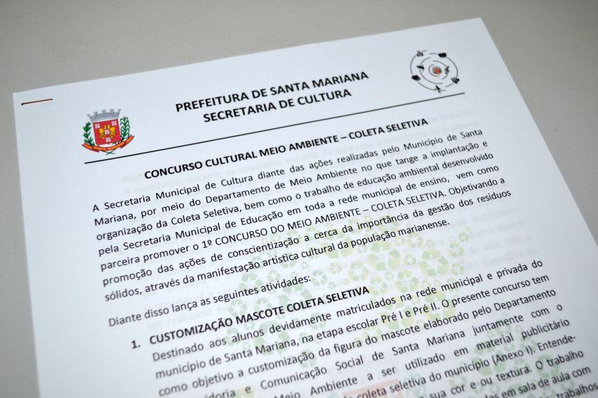 SECRETARIA DE CULTURA LANÇA CONCURSO CULTURAL MEIO AMBIENTE