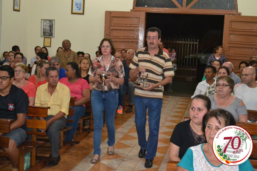 SANTA MARIANA 70 ANOS - MISSA EM AÇÃO DE GRAÇAS
