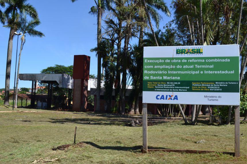 Reforma e Ampliação do Terminal Rodoviário de Santa Mariana