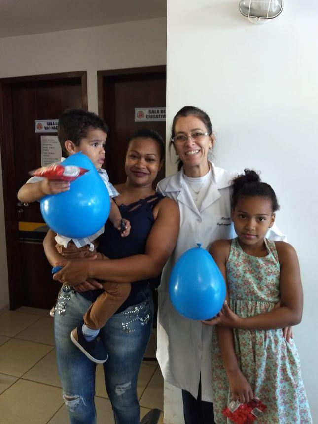 SANTA MARIANA JÁ CONTA COM 86% DE CRIANÇAS IMUNIZADAS