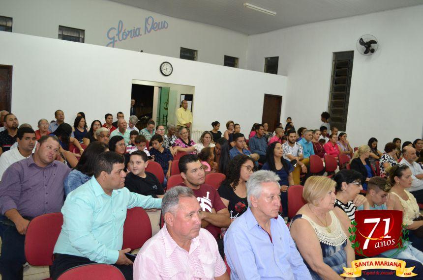 CULTO EM AÇÃO DE GRAÇAS PELO ANIVERSÁRIO DE SANTA MARIANA