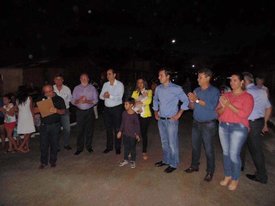 A comunidade do Distrito de Quinzópolis loc