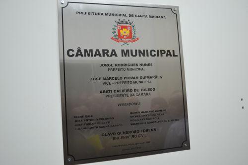 INAUGURADA NOVA SEDE DO LEGISLATIVO DE SANTA MARIANA