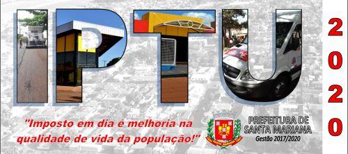 RETIRADA CARNÊ DE IPTU 2020 - ONLINE