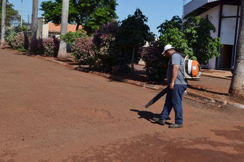 INICIADA A OBRA DE RECUPERAÇÃO ASFÁLTICA DO DISTRITO DE PANEMA