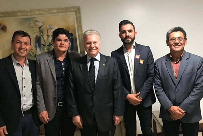 Em Brasília, Vereadores pleiteiam recursos para diversos setores de Goioerê