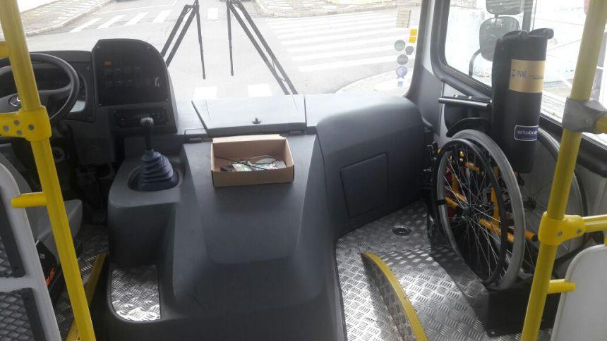 Mais um Ônibus novo e adquirido para o transporte escolar.