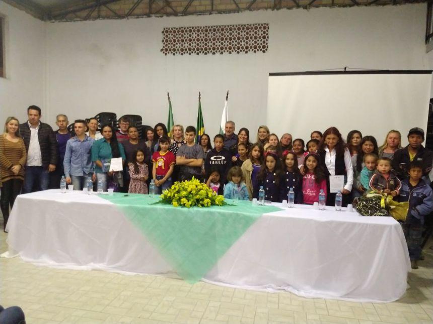 Formatura do Programa Família Paranaense em Imbituva