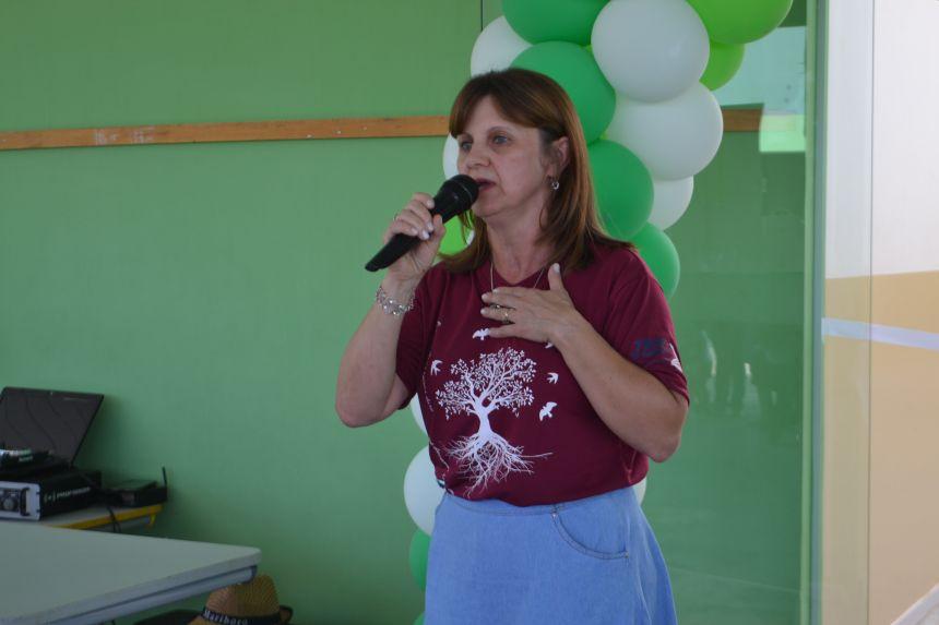 Sônia Wolff de Matos - Diretora da Escola Municipal Jacob Brenner de Barros