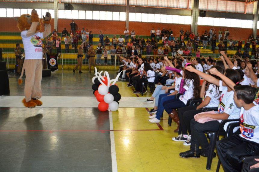 Proerd forma 419 alunos da rede municipal de ensino de Imbituva