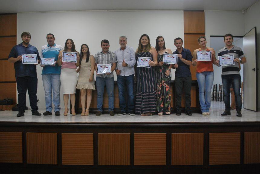 Prefeito Bertoldo participa da certificação do Selo Social em Imbituva