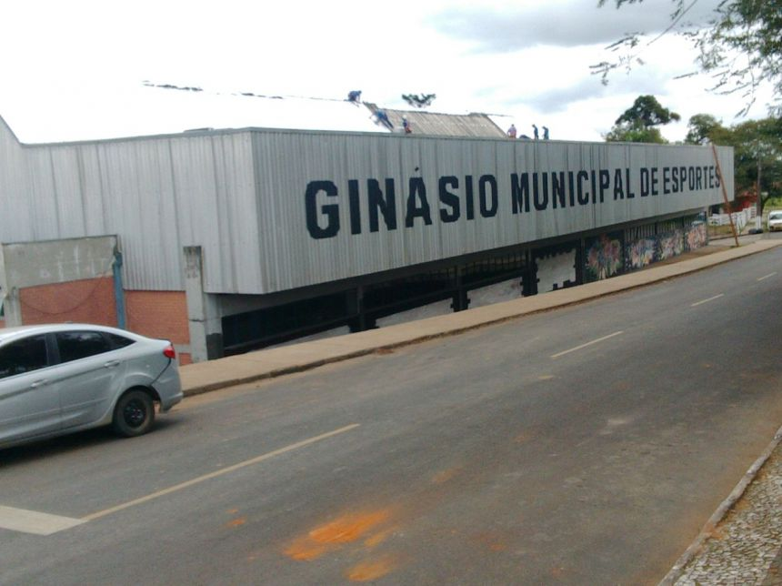Prefeitura de Imbituva investe mais de R$100 mil na cobertura do Ginásio de esportes municipal Diogo Emanuel de Almeida.