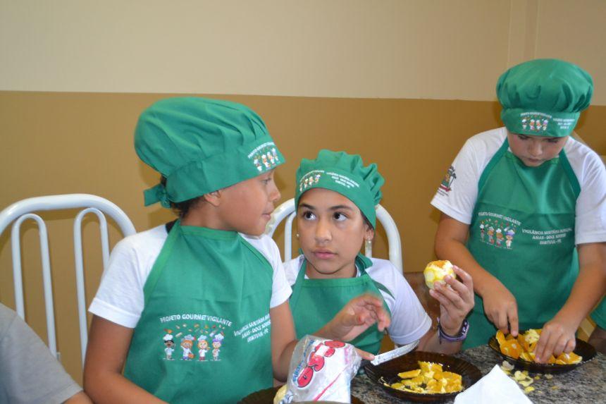 Vigilância Sanitária desenvolve projeto sobre higiene de alimentos e consumo consciente