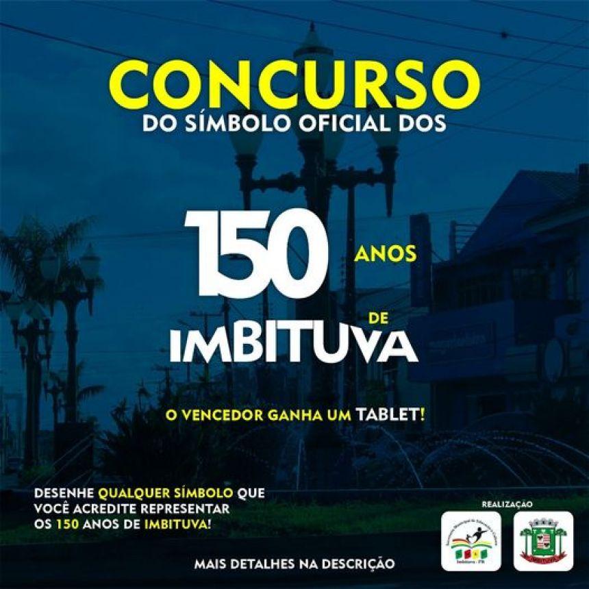 Últimos dias para participar do concurso e enviar o símbolo que melhor represente os 150 anos do nosso município.